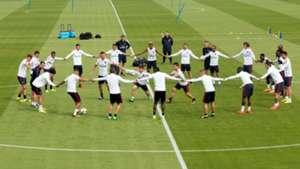 PSG Paris Saint-Germain entraînement