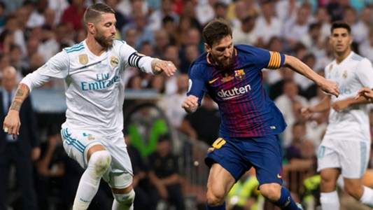 Sergio Ramos Real Madrid Lionel Messi FC Barcelona