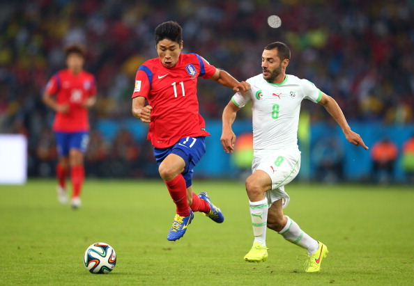 Lee Keun-ho World Cup 2014 Korea Algeria