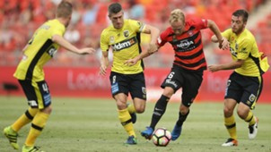 Mitch Nichols Western Sydney Wanderers v Central Coast Mariners A-League 12022017