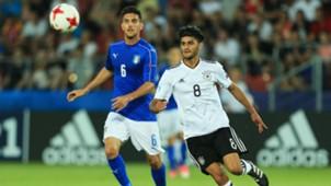 Lorenzo Pellegrini Mahmoud Dahoud Italy Germany U21 European