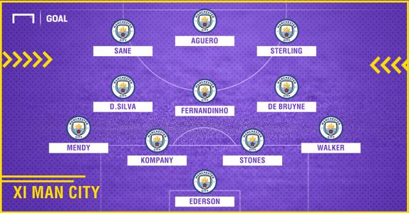 Manchester City 2010-2018 composition