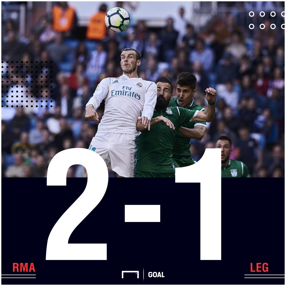 RM Leganes score