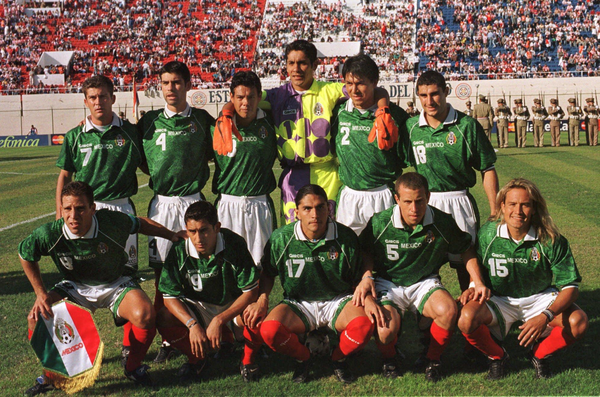México Copa América 1999