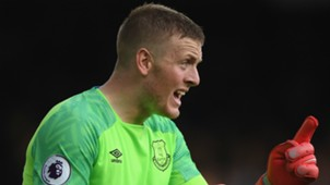 Jordan Pickford of Everton