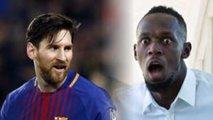 Lionel Messi, Usain Bolt