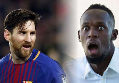 Usain Bolt compares himself to Messi