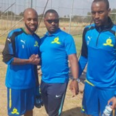 Oupa Manyisa of Sundowns
