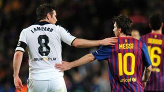 Frank Lampard Lionel Messi