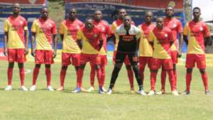 Vihiga United squad v Kariobangi Sharks.
