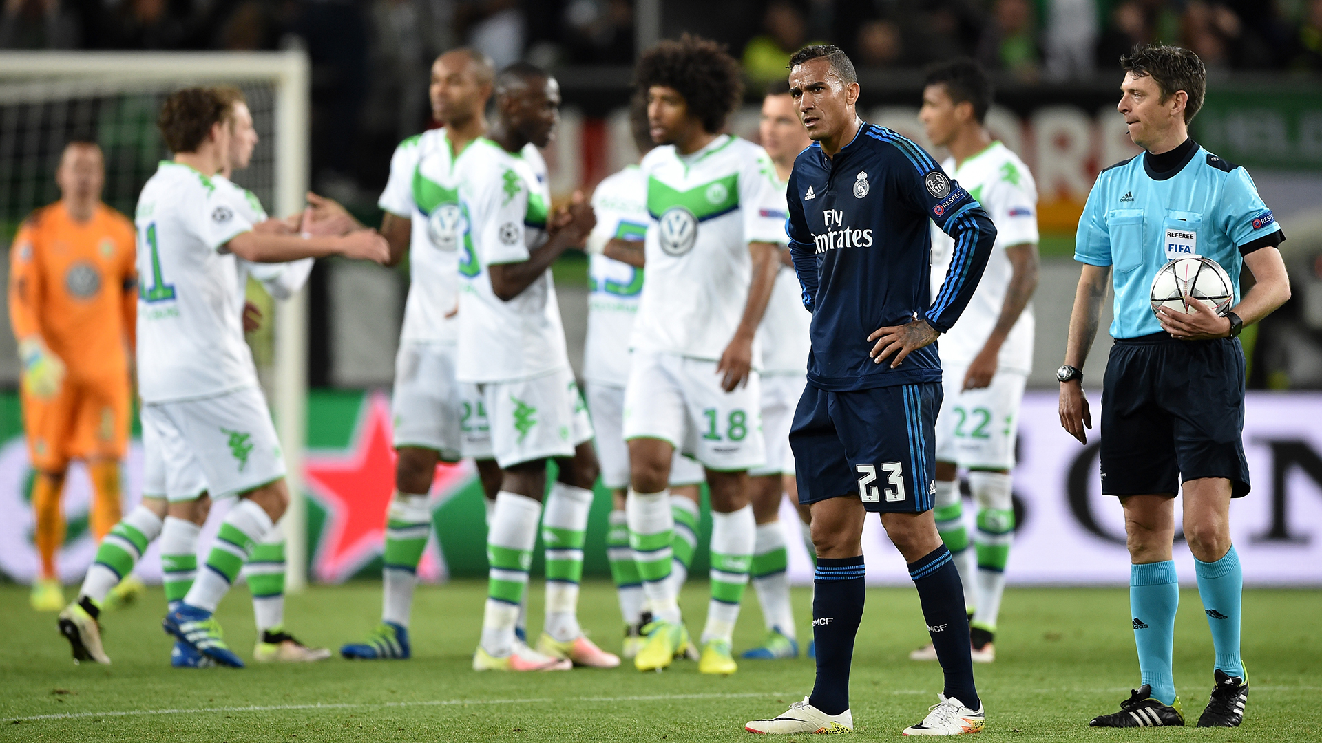 Danilo Real Madrid Wolfsburg