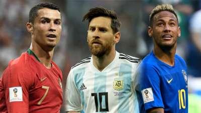 GFX Ronaldo Messi Neymar 2018 World Cup