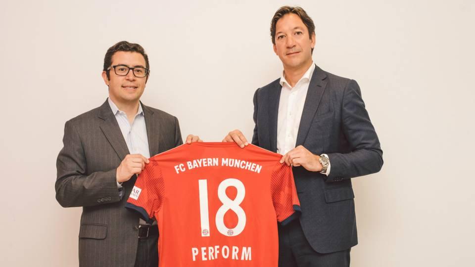 Bayern Munich & Perform Group announce unique LatAm partnership