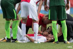 GALLERY ONLY Abdelhak Nouri, Ajax