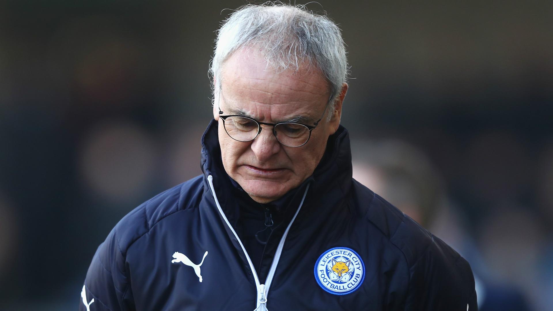 Claudio Ranieri Leicester FA Cup