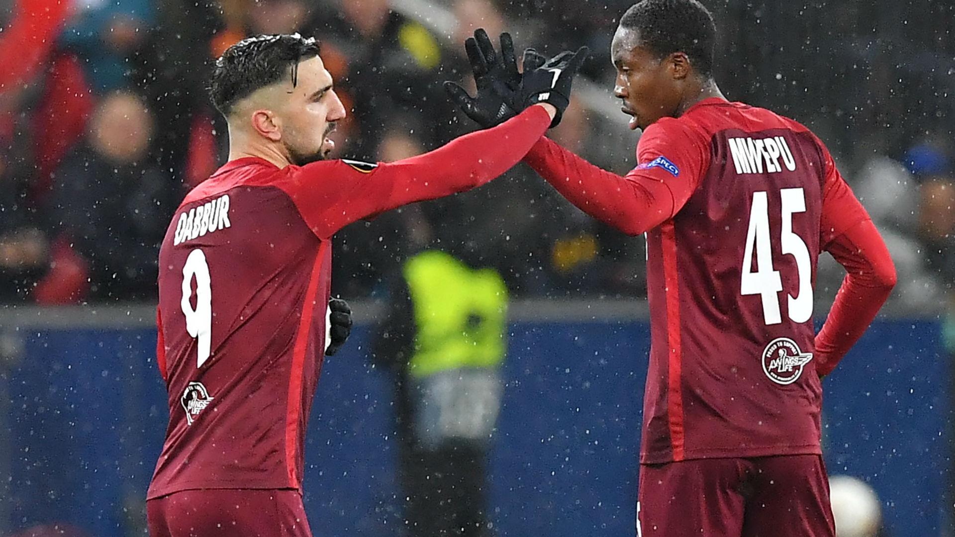 Dabbur Salzburg Napoli Europa League