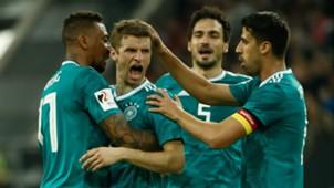 Thomas Müller Sami Khedira Mats Hummels Jerome Boateng Deutschland Spanien Germany Spain 23032018