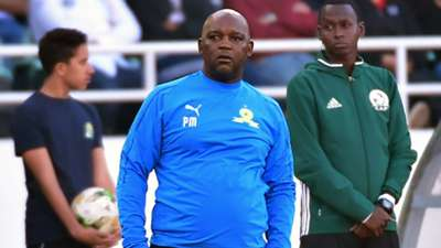 Mamelodi Sundowns coach Pitso Mosimane, March 2019