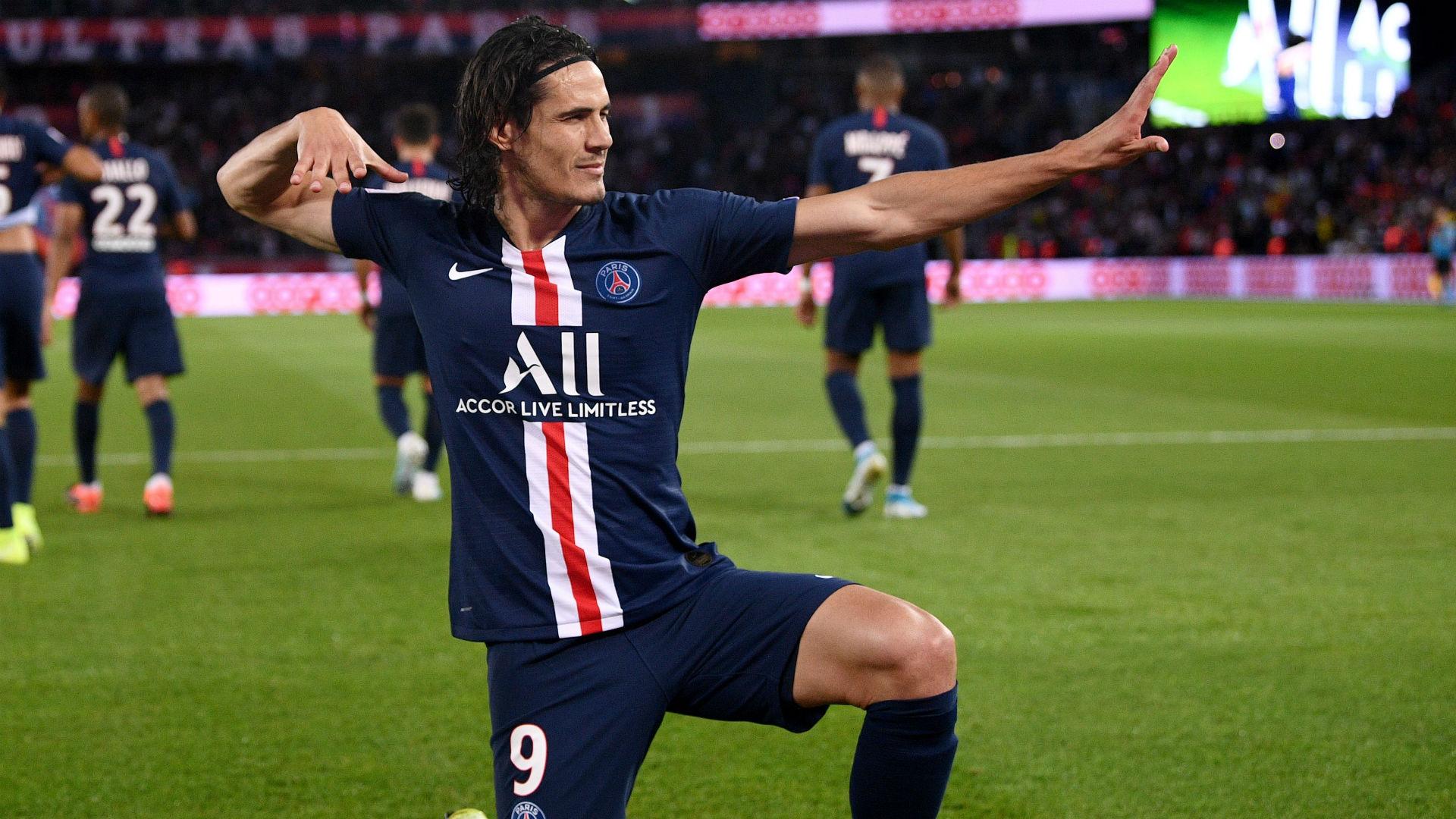 Edinson Cavani PSG Nimes Ligue 1 11082019