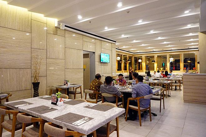 Khách sạn của Olympic Việt Nam ở Indonesia (2)