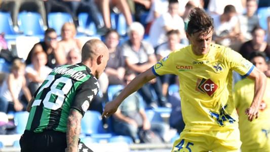 Paolo Cannavaro, Roberto Inglese, Sassuolo, Chievo, Serie A, 15102017