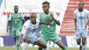 Gor Mahia midfielder Francis Kahata v Thika United.j