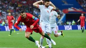 Nacho Cristiano Ronaldo España Portugal World Cup Mundial 2018