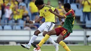 Juan Cuadrado Colombia vs Camerún amistoso 2017