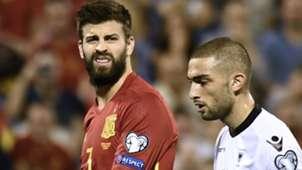 Pique Spain Albania
