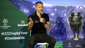 Ryan Giggs Heineken Champions League trophy tour