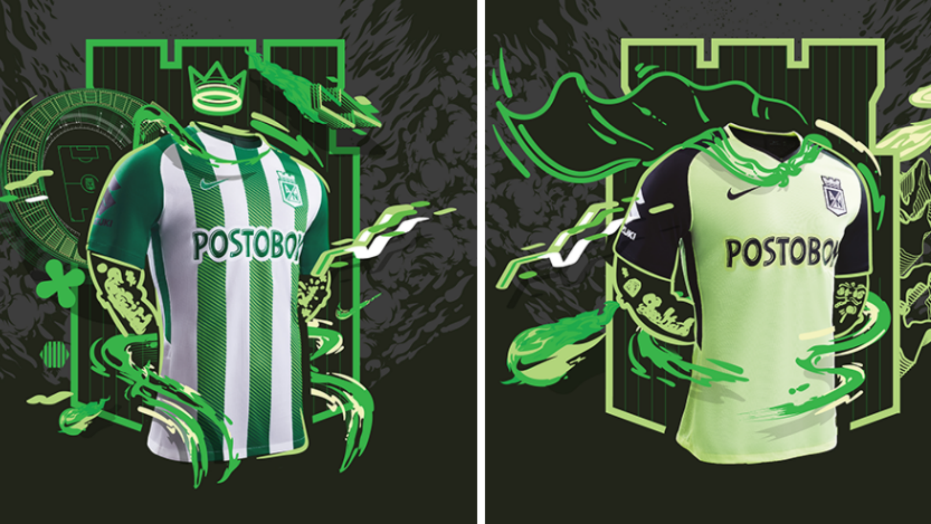 Así será la nueva camiseta para el 2018 — Atlético Nacional