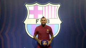 Arturo Vidal FC Barcelona 03082018