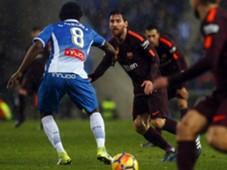Lionel Messi Espanyol Barcelona LaLiga