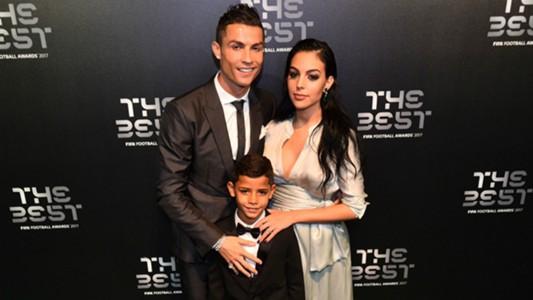 Cristiano Ronaldo Georgina Rodriguez Cristiano Jr The Best awards