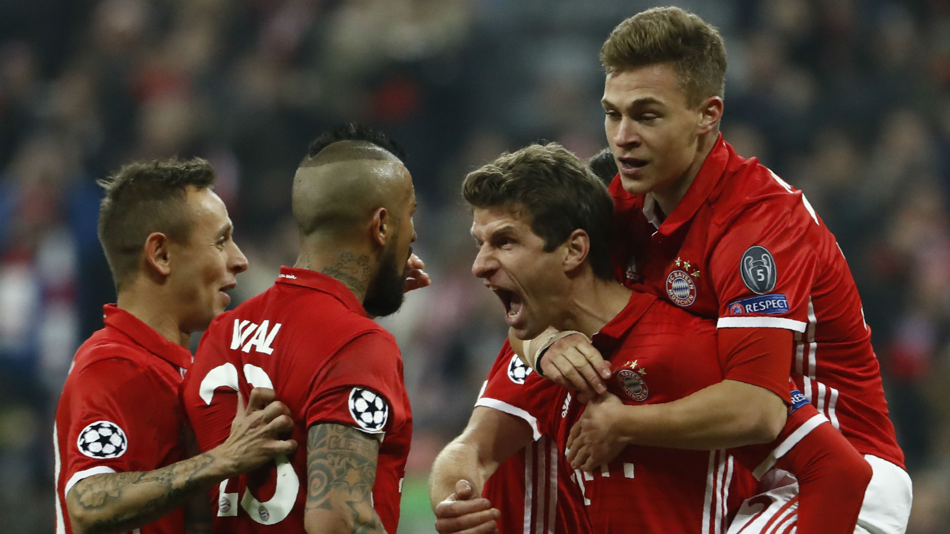 Thomas Muller Bayern Munich Champions League 021517