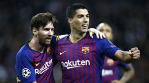 Lionel Messi Luis Suarez Barcelona Champions League 2018-19