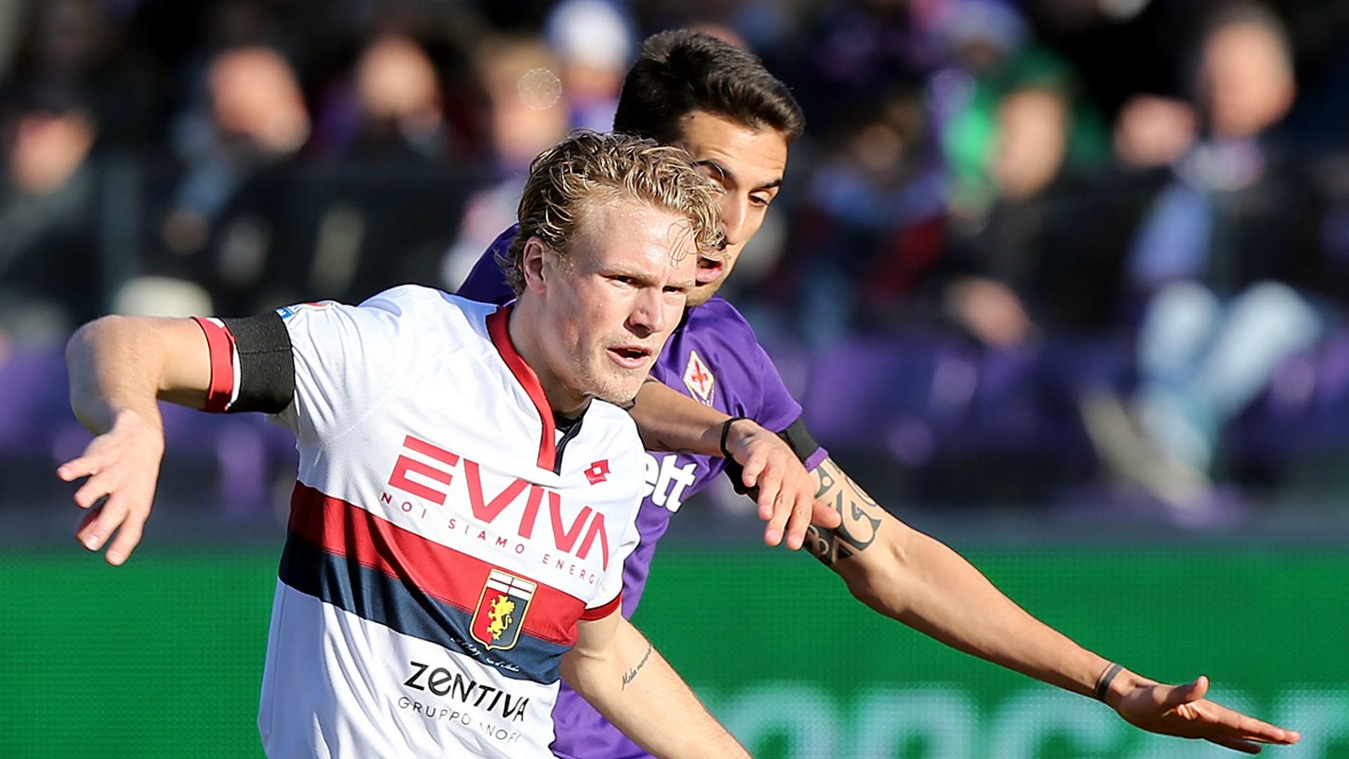 Oscar Hiljemark Matias Vecino Fiorentina Genoa Serie A