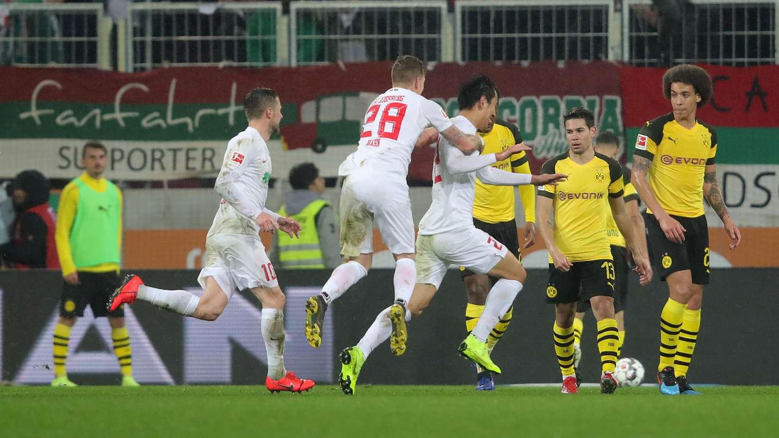 Surpris par Augsbourg, Dortmund sent le Bayern dans son rétro