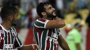 Scarpa Henrique Dourado Fluminense Atlético-MG Brasileirão 22 08 2017