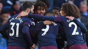 Alex Iwobi Arsenal Celebrating 2019