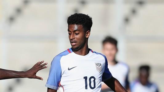 Gedion Zelalem USA U20s 10052016