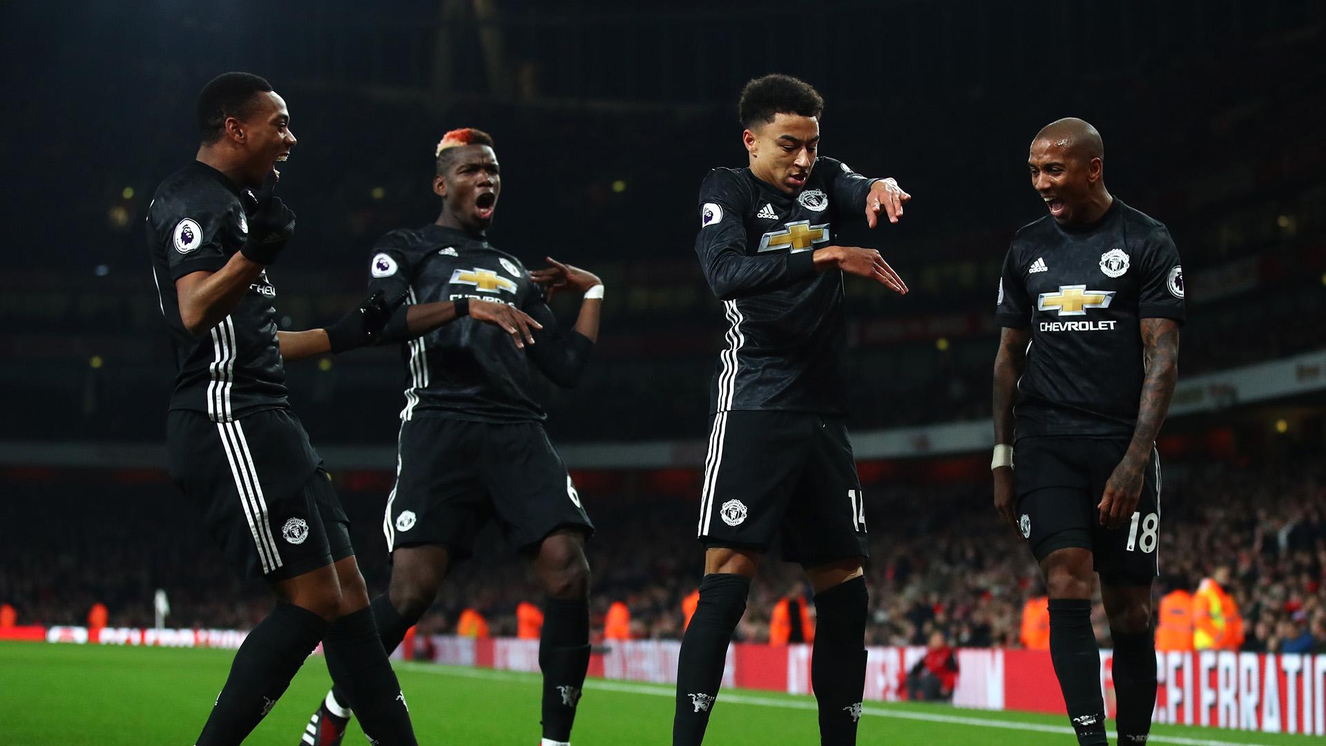 2f0ed1599 Jesse Lingard Ashley Young Paul Pogba Arsenal Manchester United Premier  League
