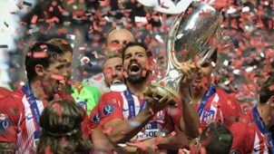 Diego Costa Atletico Madrid UEFA Super Cup 2018