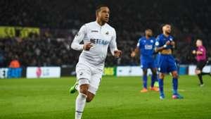 Swansea Leicester Martin Olsson