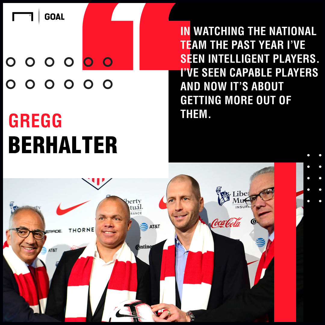 Gregg Berhalter quote