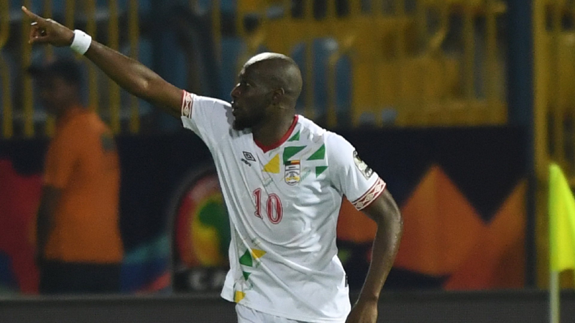Benin forward Mickael Pote 2019 Africa Cup of Nations