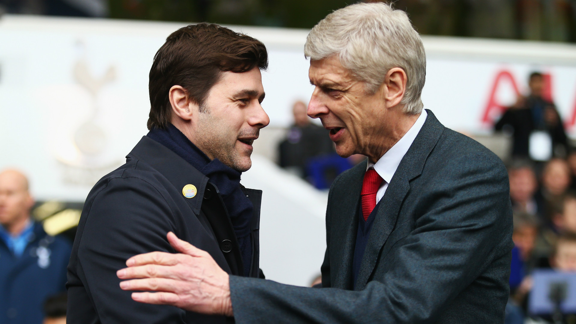 Mauricio Pochettino Arsene Wenger Tottenham Arsenal Premier League