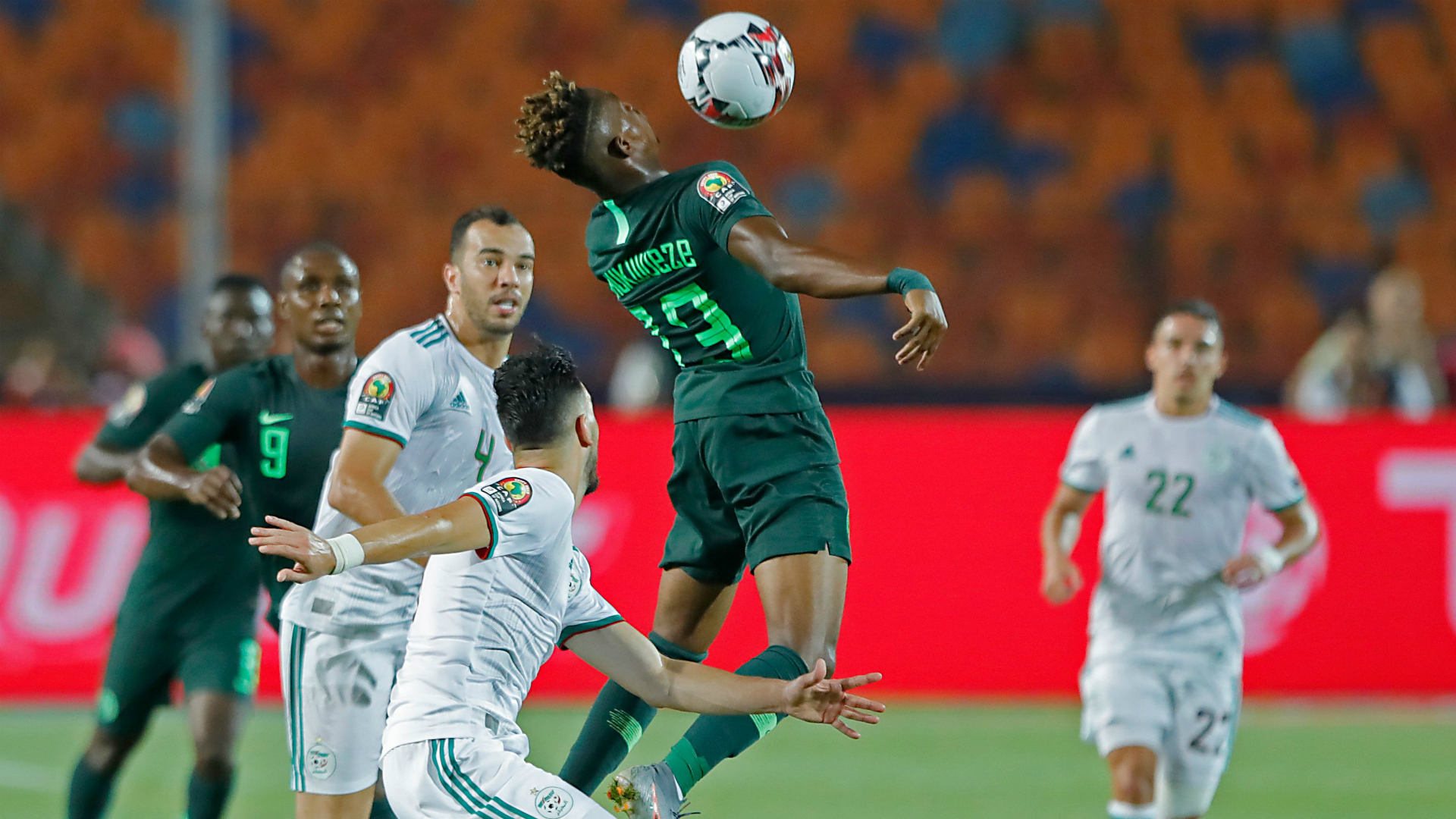 Nigeria Grab Early Lead In Tunisia AFCON Third Place Clash