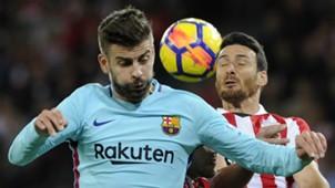Gerard Pique Aritz Aduriz Athletic Bilbao Barcelona LaLiga
