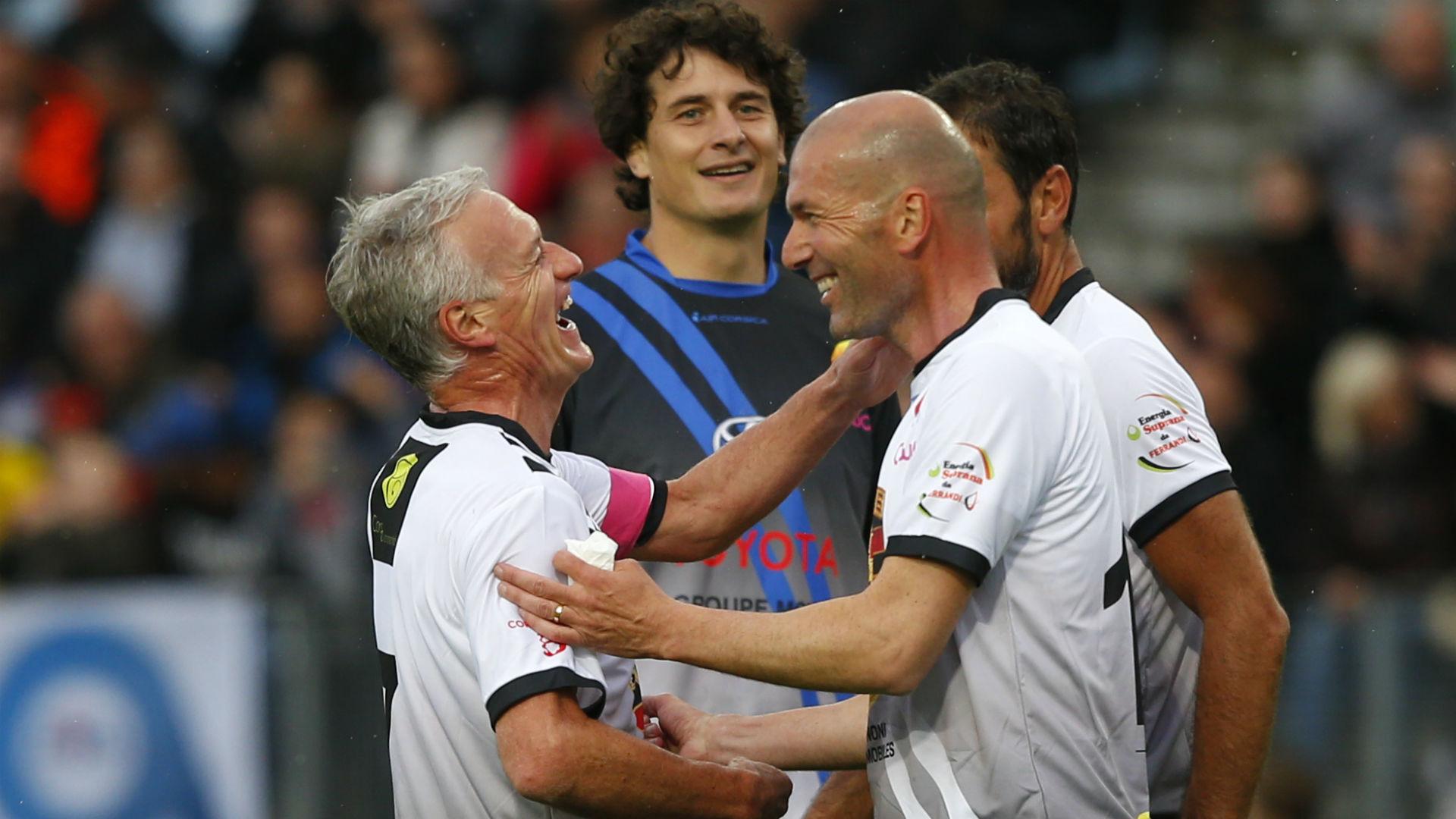 Didier Deschamps Zinedine Zidane